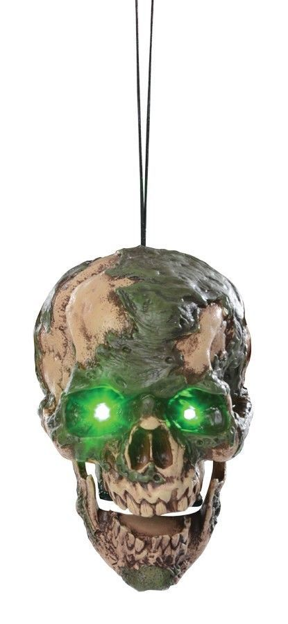 "Undead Fred Hanging Head Halloween Prop Haunted House ""FAST SHIP"""