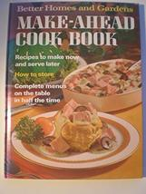 Better Homes and Gardens Make-Ahead Cook Book Dooley, Roger - $3.71
