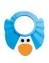 Creative Cartoon Children's Bath Cap / Shower Hat Can be Adjusted Blue Penguin