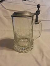 ALWE Old Spice W Germany Crystal Lidded Beer Stein SALEM Ship Grand Turk... - $29.69