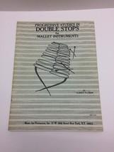 Progressive Studies in Double Stops for Mallet Instruments Book Albert P... - $13.83
