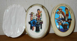 Avon Grandfathers Are Special 1983 Tin WITH Soap Norman Rockwell new con... - $15.99