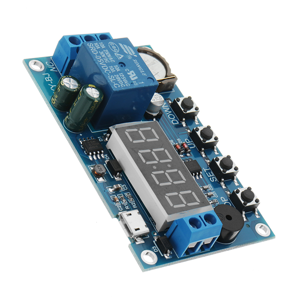 DC 5V To 60V Real-time Relay Module Clock Synchronization Timer Module Time Cont image 2