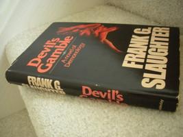 Devil's Gamble A Novel of Demonology - Frank G Slaughter Gruesome Horror... - $14.99