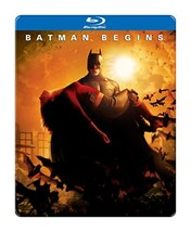 Batman Begins (Blu-ray) steelbook