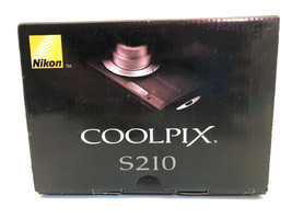 Nikon Coolpix S210 Camera for Parts - $16.48