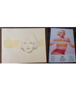 2 MARILYN MONROE Set Artist Signed Lithograph Print Limited Edition + HT... - $699.99