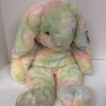 "TY 19"" Multicolor Bunny Stuffed Animal Plush - $19.80"