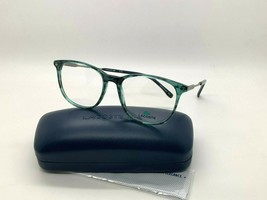 Lacoste Eyeglasses L2804 466 Green Spotted 52-17-145MM Brand New W Case - $48.47
