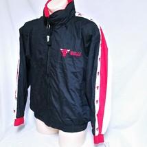 VTG Chicago Bulls Pro Player Jacket Windbreaker NWT 90s Coat Colorblock ... - $69.99
