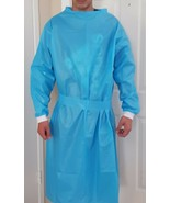 Blue Isolation Gowns, Universal - Pack of 200 Gowns - $149.60