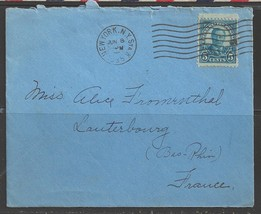 1935 New York (Jun 8) to Lauterbourg France - $4.00