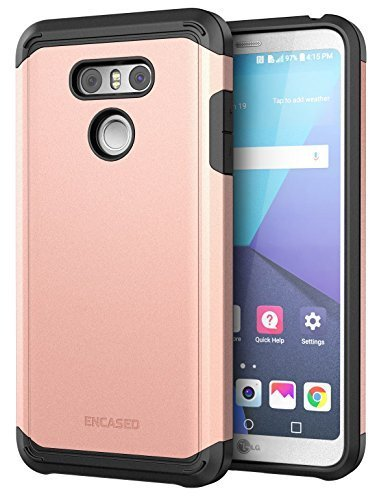 LG G6 Case Rose Gold - Premium Tough Protection (impact armor) Scorpio R5 by Enc