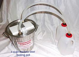 Water purifier, Stainless Steel Distiller, desalter, no electric, no fil... - $39.59