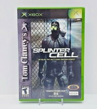 Tom Clancy's Splinter Cell (Microsoft Xbox, 2002) - Complete - $9.50