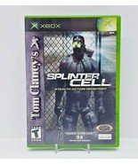 Tom Clancy's Splinter Cell (Microsoft Xbox, 2002) - Complete - $9.50