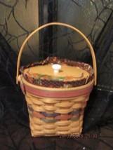 """Longaberger Baskets 1996 """"Maple Leaf"""" Combo Basket Set Retired - $85.00"""