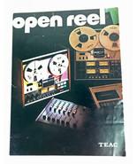 Vtg TEAC Open Reel Brochure A-2300SD, A-2300S, A-3300S, A-4300, A-6300, ... - $15.47