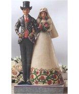 Jim Shore I DO BRIDE AND GROOM Stone Resin Wedding 4007234 - $22.76