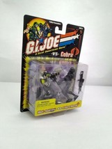 G. I. JOE 2001 RAH: WET-SUIT vs COBRA MORAY 2 NEW IN PACKAGE  - $25.00