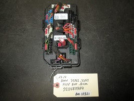 13 14 BMW 328i,335i FUSE BOX BCM #922487904 *See item description* - $34.65