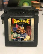 Rampage World Tour (Nintendo GameBoy, 1998) - $5.85