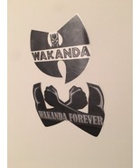 Black Panther Wakanda Custom Removable Car Kids Room Wall Decal Stickers - $9.89