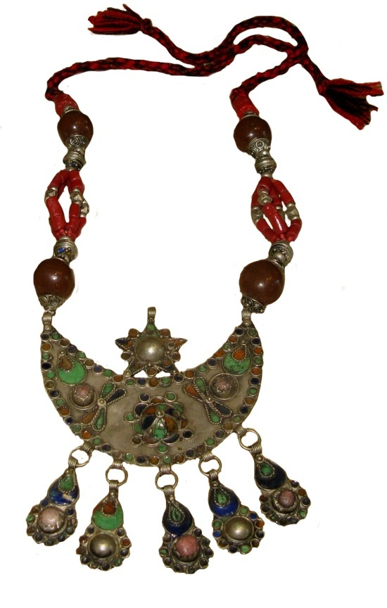 Primary image for Tuareg necklace-Antique necklace Morocco- Vintage necklace - Antique necklace