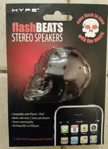 Hype Flash Beats Stereo Speakers STEREO SOUND QUALITY *Black* - $9.90