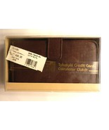 Princess Gardner Tabstyle Credit Card Calculator Clutch NWT - $14.99