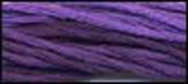 Pansy Purple (CCT-102) 6 strand hand-dyed cotton floss Classic Colorworks - $2.15