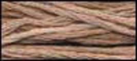 Khaki Mocha (CCT-055) strand hand-dyed cotton floss Classic Colorworks - $2.15