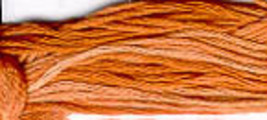 Copper Penny (CCT-158) strand hand-dyed cotton floss Classic Colorworks - $2.15