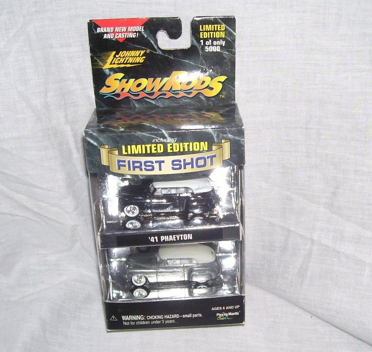 Primary image for Johnny Lightning SHOW RODS FIRST SHOT '41 PHAEYTON Diecast Cars NEW! 1999