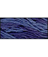 Blue Beatrice (CCT-132) strand hand-dyed cotton floss Classic Colorworks - $2.15