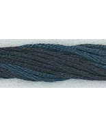 Blacksmith Blue (CCT-187) strand hand-dyed cott... - $2.15