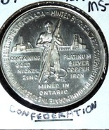1967 Canada dollar Confederation /ontario  mixed metals - $381,55 MXN
