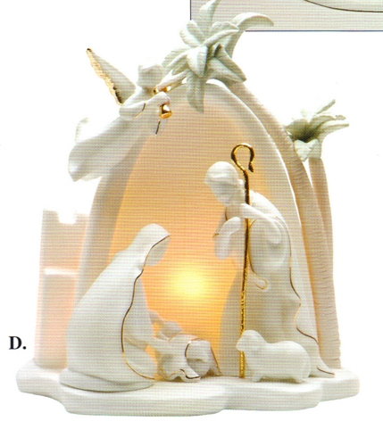Moshy brothers page 3   nativity with light cord 33106