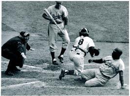 Jackie Robinson 1955 World Series Vintage 11X14 BW Baseball Memorabilia ... - $14.95