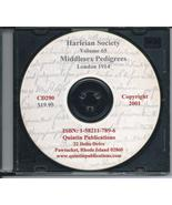 CD: Harleian Society, Vol. 65 , Middlesex Pedigrees Collected by Richard... - $9.98