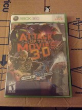 Attack of The Movies 3D Includes 4 Pair of 3D Glasses Xbox 360 Brand New - $7.95