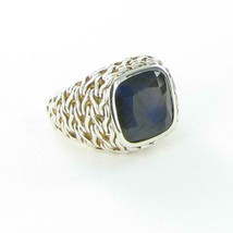John Hardy Classic Chain Blue Labradorite Ring Sterling Sterling Silver ... - $712.95