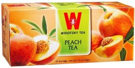 Wissotzky - Tea Frt Peach Pack of 6 - $31.04