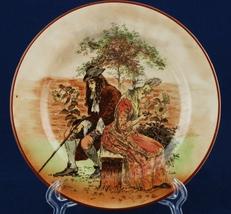"Royal Doulton Sir Roger de Coverley 6.5"" Bread Plate D3418 I-10 #2 - $12.00"