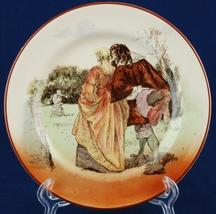 "Royal Doulton Sir Roger de Coverley 6.5"" Bread Plate D3418 I-10 #3 Court... - $12.00"