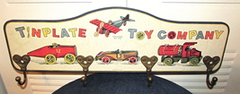 Storytime Tinplate Toy Company Wooden Coat/Hat Rack Multi-Color - $50.00