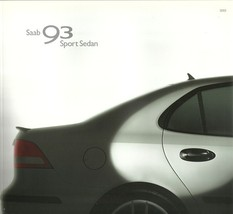 2003 SAAB 9-3 brochure catalog 03 US 93 Linear Arc Vector - $10.00