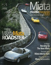 2001 Mazda MX-5 MIATA sales brochure catalog US 01 LS - $10.00