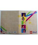 Lego Friends 2 Pocket Designed, Name Brand School Folder (PINK GREEN BLU... - $9.95