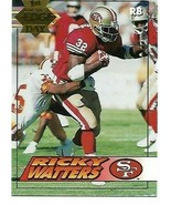 1994 Collectors 1st Edge Day GOLD #179 Ricky Watters 49ers  NM/MINT - $1.79